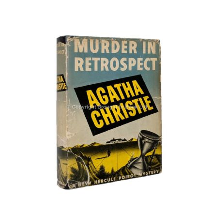 Murder In Retrospect by Agatha Christie First Edition Dodd Mead & Company 1942